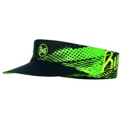BUFF PACK RUN VISOR R-FLASH LOGO - AMARILLO FLUOR.
