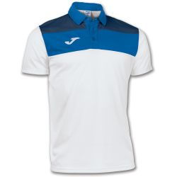 JOMA POLO  BLANCO/ROYAL