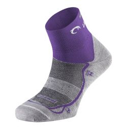 Calcetines Lurbel Running Race - Mujer - Gris