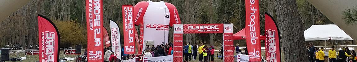Eventos ALS Sport, triatlón, duatlón, carreras por montaña, cxm, carreras populares